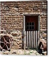 Mill Door Acrylic Print