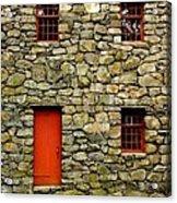Mill House Over Stream Acrylic Print
