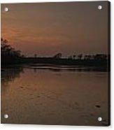Mill Pond Sunset Acrylic Print