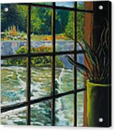 Mill With A View Acrylic Print by Peter Jackson