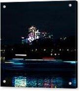 Millbank Firework Display Acrylic Print