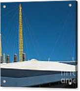 Millennium Dome London Acrylic Print