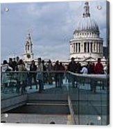 Millennium Footbridge Acrylic Print