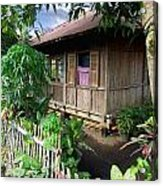 Minahasa Traditional Home 1 Acrylic Print