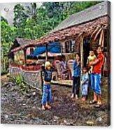 Minahasa Traditional Home 3 Acrylic Print