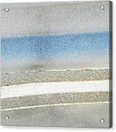 Minimalism In Primarily Grey Acrylic Print