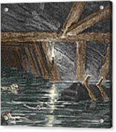 Mining Disaster, 19th Century Acrylic Print