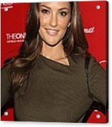 Minka Kelly At Arrivals For Esquire Acrylic Print by Everett
