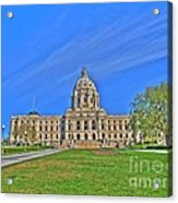 Minnesota State Capital Iv Acrylic Print