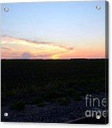 Minnesota Sunset 17 Acrylic Print