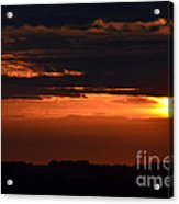 Minnesota Sunset 6 Acrylic Print