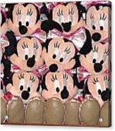 Minnie Mouse On A Shelf 2 Acrylic Print