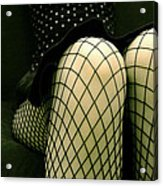 Minty Acrylic Print by Pawel Piatek
