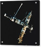 Mir Space Station Acrylic Print
