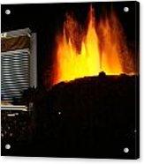 Mirage Volcano Acrylic Print