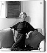 Miriam Hopkins At Her Beverly Hills Acrylic Print by Everett