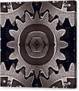 Mirror Gears Acrylic Print
