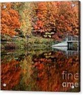 Mirror Pond Acrylic Print