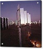 Mirror-winged Solar Panels Convert Acrylic Print