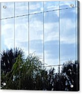 Mirrored Facade 1 Acrylic Print by Stuart Brown