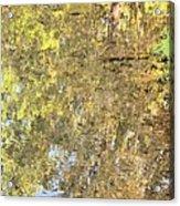 Mirroring Autumn Acrylic Print