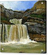 Mirusha Falls In Kosovo Acrylic Print