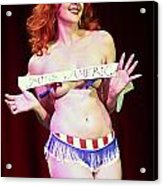 Miss America Acrylic Print