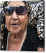 Miss Lena - New Orleans Psychic Acrylic Print