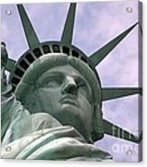 Miss Liberty Acrylic Print