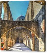 Mission Arches Acrylic Print