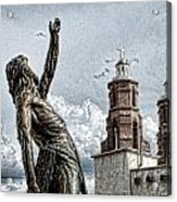 Mission At San Luis Acrylic Print