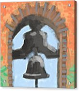 Mission Bell Acrylic Print