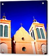 Mission Church Silver City Nm Acrylic Print