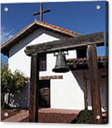 Mission Francisco Solano - Downtown Sonoma California - 5d19301 Acrylic Print by Wingsdomain Art and Photography