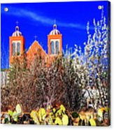 Mission In Silver City Nm Acrylic Print