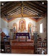 Mission San Antonio De Padua 3 Acrylic Print