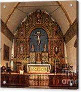 Mission San Carlos Borromeo De Carmelo  11 Acrylic Print