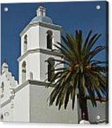 Mission San Luis Rey Iv Acrylic Print