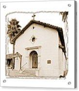 Mission San Rafael Arcangel - II Acrylic Print by Ken Evans