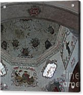 Mission San Xavier Del Bac - Vaulted Ceiling Detail Acrylic Print
