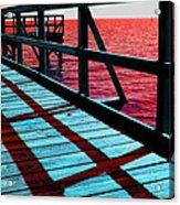 Mississippi  Pier - Ver. 10 Acrylic Print