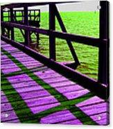 Mississippi  Pier - Ver. 4 Acrylic Print