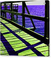 Mississippi  Pier - Ver. 7 Acrylic Print
