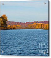 Mississippi River Fall Acrylic Print