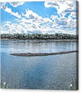 Mississippi River Panorama Acrylic Print