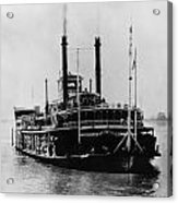 Mississippi Steamboat, 1926 Acrylic Print