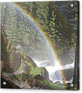 Mist Trail Rainbow Acrylic Print