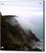 Mists Along The Kalalau Valley Acrylic Print