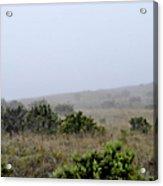 Mists Between The Hills Acrylic Print
