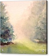 Misty Morning 2 Acrylic Print